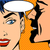 man whispers girl pop art vintage comic stock photo © studiostoks