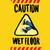 precaución · mojado · piso · amarillo · información · símbolo - foto stock © studiostoks