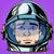 emoticon surprise emoji face man astronaut retro stock photo © studiostoks