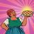 retro old female african american berry pie stock photo © studiostoks