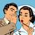 diagnosis patient nurse and male gossip surprise conversation st stock photo © studiostoks
