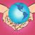 planet earth in hands america stock photo © studiostoks