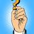 karikatür · soru · işareti · dizayn · sanat · Retro · komik - stok fotoğraf © studiostoks