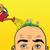 はげ · 男 · 歳の男性 · 白 · 顔 · 髪 - ストックフォト © studiostoks