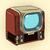 retro tv home appliances stock photo © studiostoks