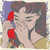 mujer · teléfono · arte · pop · estilo · retro · medios · tonos - foto stock © studiostoks