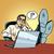 質問 · ビジネスマン · 誤解 · ポップアート · レトロスタイル · オフィス - ストックフォト © studiostoks