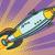 desenho · animado · foguete · espaço · navio · intensificador · tiroteio - foto stock © studiostoks