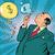 businessman financier money inflates bubbles stock photo © studiostoks