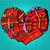 box gift heart shaped valentines day stock photo © studiostoks