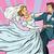 menyasszony · fehér · esküvői · ruha · pop · art · retró · stílus · gyönyörű · nő - stock fotó © studiostoks
