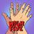 feketefehér · kezek · szolidaritás · barátság · pop · art · retró · stílus - stock fotó © studiostoks