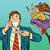 コミック · 漫画 · 飛行 · ソーサー · レトロな - ストックフォト © studiostoks