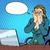 businesswoman with laptop bad news stock photo © studiostoks