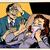 férfi · könnyek · képregény · rajz · pop · art · retro - stock fotó © studiostoks