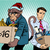 santa claus monkey 2016 new year and sad people stock photo © studiostoks