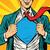 szuperhős · férfi · üzletember · pop · art · retro · üzlet - stock fotó © studiostoks