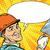 コミック · 漫画 · 石膏 · レトロな · スタイル - ストックフォト © studiostoks