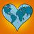 Föld · bolygó · kontinensek · fa · pillangó · világ - stock fotó © studiostoks