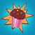 muffin · vintage · retro · stijl · cake - stockfoto © studiostoks