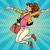 young woman jumping lifestyle stock photo © studiostoks