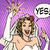 漫画 · 笑みを浮かべて · 花嫁 · 少女 · 子供 · ドレス - ストックフォト © studiostoks