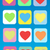 colorful abstract background heart stock photo © studiostoks