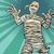 vintage egyptian mummy horror movie and halloween stock photo © studiostoks