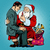 christmas gift santa claus and businessman stock photo © studiostoks