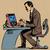 комического · Cartoon · компьютерная · игра · ретро · стиль - Сток-фото © studiostoks