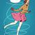 図 · スケート · スケート · 白 · 少女 · スポーツ - ストックフォト © studiostoks