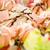 food salmon anchovy salad stock photo © studiotrebuchet