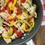tortilla · pollo · verdura · gesso · bordo · tavola - foto d'archivio © studiotrebuchet