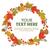 ősz · koszorú · tökök · fehér · fa · tárgy - stock fotó © studioworkstock