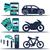 voiture · bannières · louer · voitures · commerce - photo stock © studioworkstock