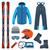 invierno · deportes · iconos · ejercicio · Cartoon - foto stock © studioworkstock