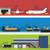 logistics infographic banner set flat vector stock photo © studioworkstock