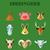 boerderijdieren · cartoon · teken · boerderij · schattige · dieren · rond - stockfoto © studioworkstock