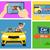 comprar · coche · comprar · iconos · mano - foto stock © studioworkstock