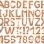 ábécé · levelek · halom · izolált · fehér · felirat - stock fotó © suljo