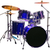 ドラム · カットアウト · セット · 赤 · 孤立した - ストックフォト © suljo