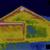 felfedezés · hő · veszteség · tető · ház · infravörös - stock fotó © suljo