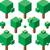 エメラルド · 緑 · 抽象的な · 低い · ポリゴン · スタイル - ストックフォト © suljo