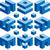 cor · quebra-cabeça · elementos · grupo · projeto · equipe - foto stock © suljo