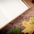 old book on table with autumn leaves stock photo © superelaks