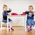 kettő · bájos · lányok · játszik · karácsony · játékok - stock fotó © superelaks