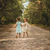 two beautiful girls walking in the woods stock photo © superelaks