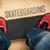 Skateboarding in skate park. Shoes and board stock photo © superelaks