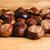 Autumn chestnuts on a wooden table stock photo © superelaks