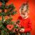 küçük · kız · noel · ağacı · güzel · güzel · aile - stok fotoğraf © superelaks